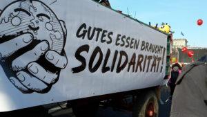 """Read more about the article """"Wir haben es satt!"""" 19.1.19 in Berlin – Wir kommen wieder"""